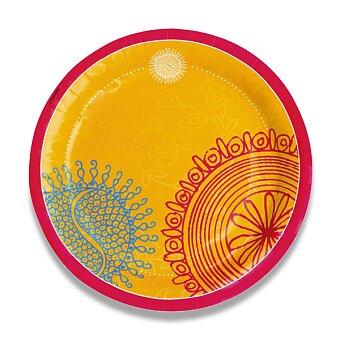 Obrázek produktu Papírové talířky Hot & Spice - průměr 23 cm, 8 ks