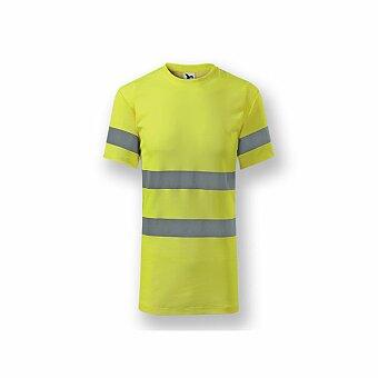 Obrázek produktu ADLER REFLEX T-SHIRT - unisex tričko s reflexními pruhy (3M), vel. L, žlutá
