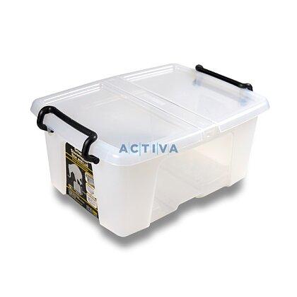 Obrázok produktu CEP Strata - úložný box s vrchnákom - objem 12 l, 295 x 405 x 183 mm