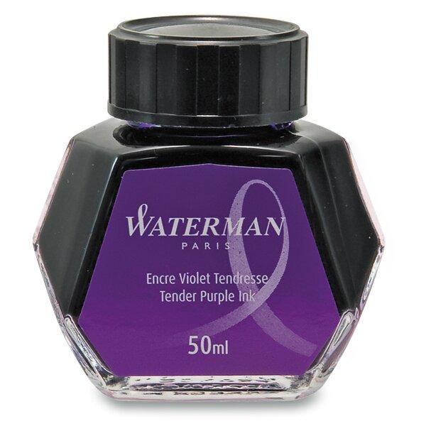Lahvičkový inkoust Waterman fialový