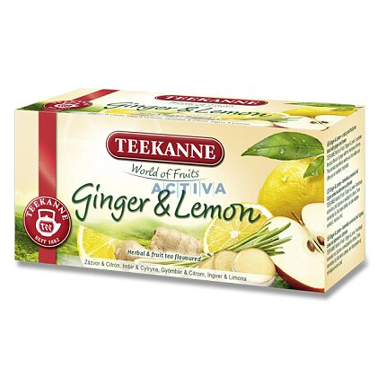 Obrázek produktu Teekanne - ovocný čaj- Ginger Lemon