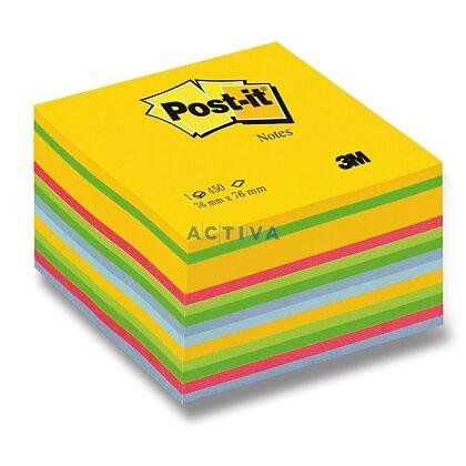 Obrázok produktu 3M Post-it - samolepiaci bloček - 76×76 mm, 450 l., Rainbow Yellow