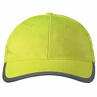ADLER REFLEX CAP - baseballová čepice s reflexními prvky, žlutá