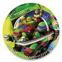Papírové talířky Želvy Ninja
