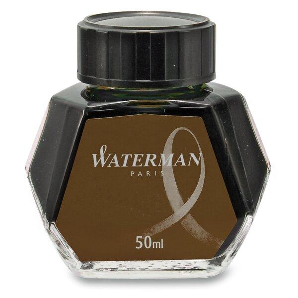 Lahvičkový inkoust Waterman hnědý