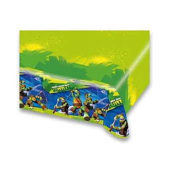Obrázek produktu Plastový ubrus Želvy Ninja - 120×180 cm