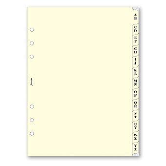 Obrázek produktu Krajové výřezy, A-Z - náplň A5 k diářům Filofax