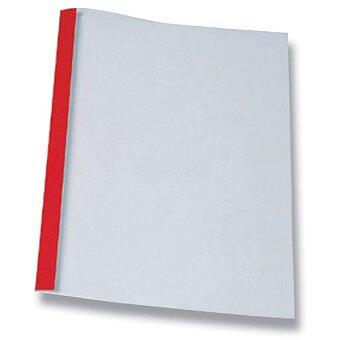 Obrázek produktu Červené desky pro termovazbu - 1,5 mm, max. 10 listů, 100 ks