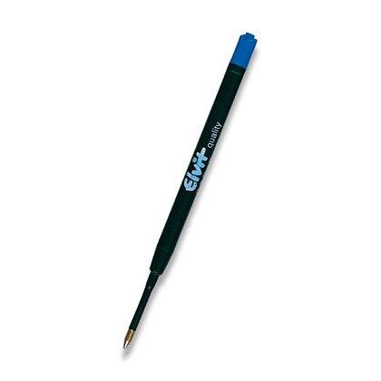 Obrázek produktu Elvit - velkoobsahová modrá náplň do kuličkové tužky plastová - typ Parker, modrá