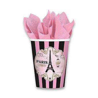 Obrázek produktu Papírové kelímky Paris - objem 0,25 l, 8 ks