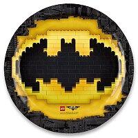 Papírové talířky Lego Batman