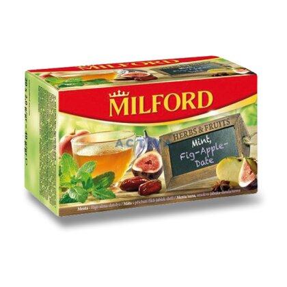 Obrázek produktu Milford - ovocný čaj - Máta, fíky, jablko, datle