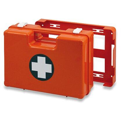 Obrázek produktu Lékárnička plastový kufr - oranžová, 335 × 250 × 123 mm