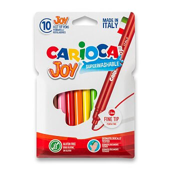 Obrázek produktu Dětské fixy Carioca Joy - 10 barev
