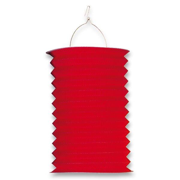 Papírový lampion délka 28 cm, mix motivů