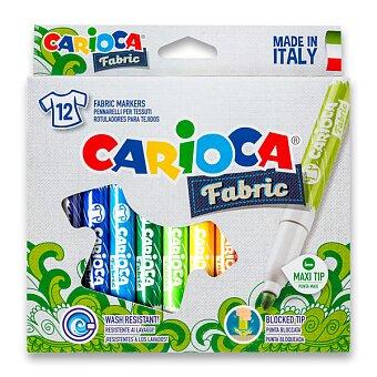 Obrázek produktu Fixy Carioca Fabricart - 12 barev