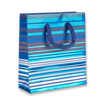 Obrázek produktu Dárková taška Premium Blue - 120 x 45 x 135 mm