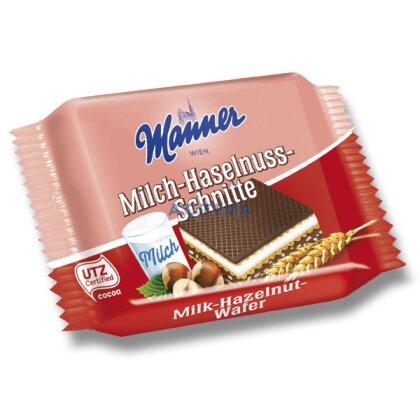 Obrázek produktu Manner Hasselnuss Schnitte - oplatky s náplní - 25 g, 30 ks