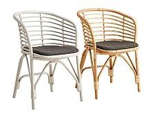 Židle s područkou Cane-Line Blend