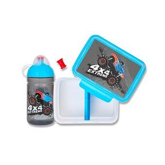 Obrázek produktu Set Zdravá lahev 0,5 l a Zdravá sváča - Monster Truck