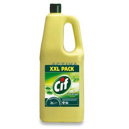Obrázek produktu Cif krémový čistič - univerzální čisticí prostředek- Lemon, 2 l