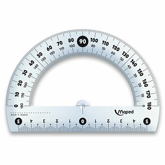 Obrázek produktu Úhloměr Maped Essentials 180°