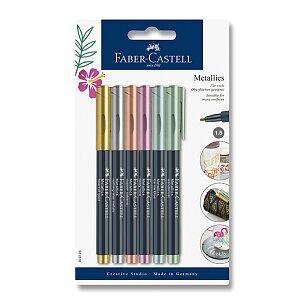 Popisovač Faber-Castell Metallics