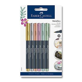 Obrázek produktu Popisovač Faber-Castell Metallics - 6 barev