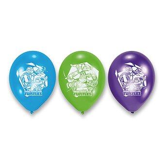 Obrázek produktu Nafukovací balónky Želvy Ninja - 6 ks
