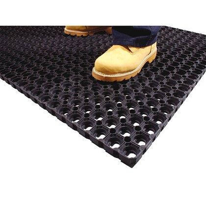 Obrázek produktu Coba Ringmat Honeycomb - gumová rohož - 1,0 × 1,5 m