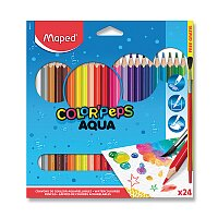 Pastelky Maped Color'Peps Aqua