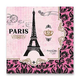 Obrázek produktu Papírové ubrousky Paris - 33 x 33 cm, 16 ks