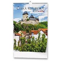 Nástěnný obrázkový kalendář Česká republika 2020
