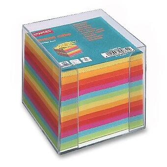 Obrázek produktu Zásobník s papírem Staples Clear Cube - 9 x 9 x 9 cm, 800 listů