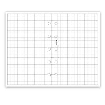 Obrázek produktu Poznámkový papír, čtverečkovaný - náplň mini diářů Filofax