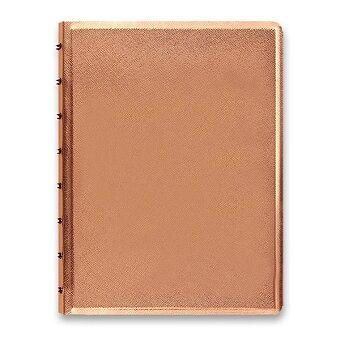 Obrázek produktu Zápisník A5 Filofax Notebook Saffiano - rose gold