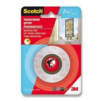 Obrázek produktu Oboustranná montážní páska Scotch 41915C - šíře 19 mm, návin 1,5 m, odolná UV záření