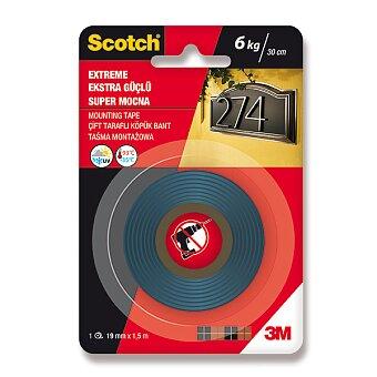 Obrázek produktu Oboustranná montážní páska Scotch - 19 mm × 1,5 m