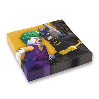 Obrázek produktu Papírové ubrousky Lego Batman - 33 x 33 cm, 20 ks