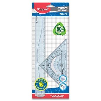 Obrázek produktu Sada Maped Geometric Maxi - 3dílná sada, pro leváky