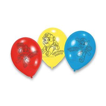 Obrázek produktu Nafukovací balónky Tlapková Patrola - 6 ks