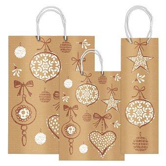 Obrázek produktu Vánoční dárková taška Sadoch Fantasia Ozdoby - výběr rozměrů