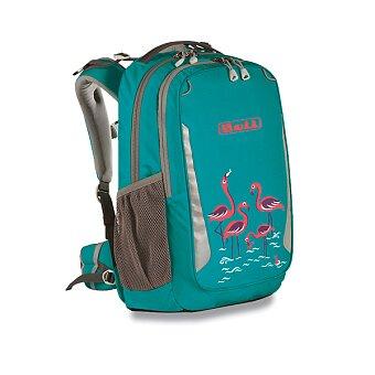 Obrázek produktu Školní batoh Boll School Mate Artwork 20 Flamingos - turquoise