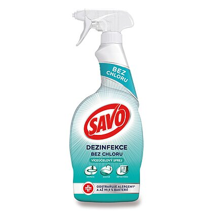 Product image Savo Without chlorine - cleanser - multipurpose spray, 700 ml