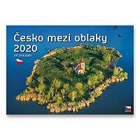 Nástěnný obrázkový kalendář Česko mezi oblaky 2020