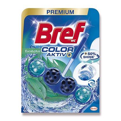 Obrázek produktu Bref WC Color Aktiv - WC blok - Eucalyptus