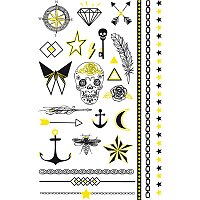 Tetovací nálepky Stickers Tatoo - Fluo