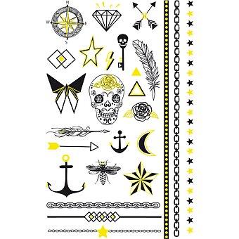Obrázek produktu Tetovací nálepky Stickers Tatoo - Fluo