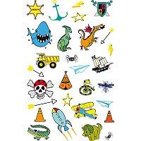 Tetovací nálepky Stickers Tatoo - Pro kluky