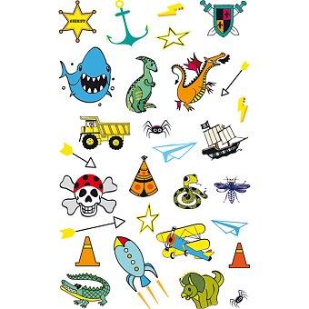 Obrázek produktu Tetovací nálepky Stickers Tatoo - Pro kluky